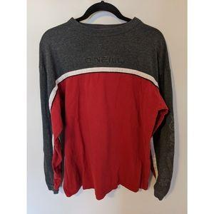 Vintage 90's O'Neill Stripe Long Sleeve Shirt, M